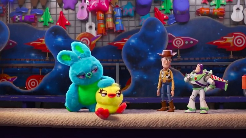 This Super Bowl TV spot for Toy Story 4 goes to infinity and my foot 2