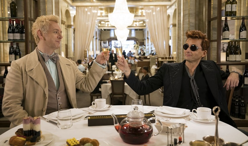 Unlikely allies must stop the apocalypse in the full trailer for Amazon's Good Omens 3