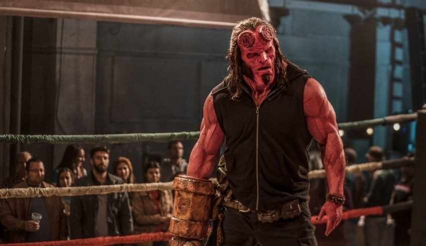 Celebrate Hellboy Day and you could get to see the movie early 2