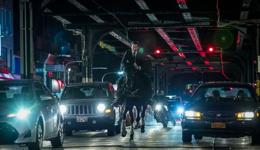 """""""Guns... Lots of guns"""" The new trailer for John Wick 3 is here! 15"""