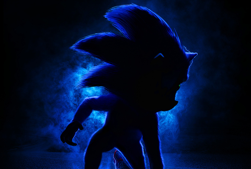 We have our first clear look at Sonic the Hedgehog from the upcoming movie 3