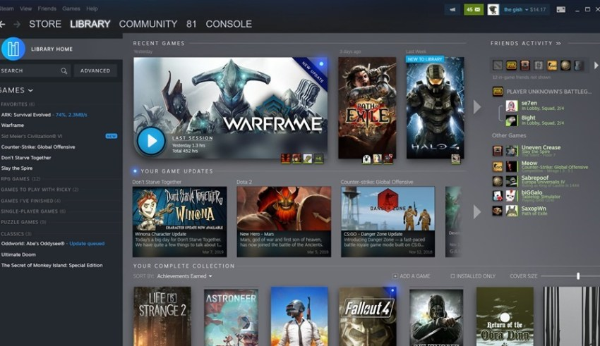 Steam libraries finally getting an overhaul; Might look way less ugly 14