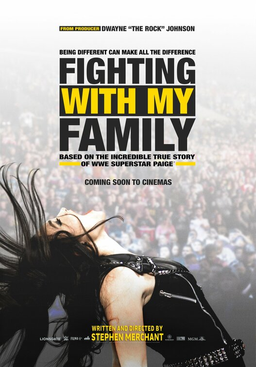Win double tickets to an early screening of wrestling biopic Fighting With My Family 4