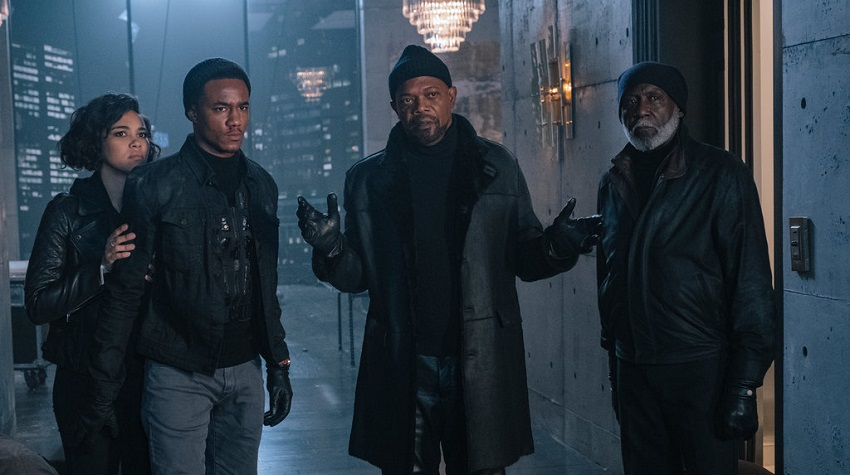 Get ready for intergenerational ass-whupping in the new trailer for Shaft 3