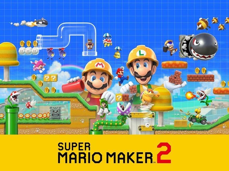 Here's the winner of the Super Mario Maker 2 hamper! 3