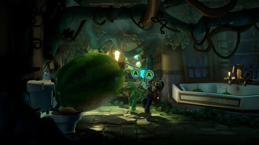 Gamescom Hands-on: Lime slime and manic manifestations in Luigi's Mansion 3 8