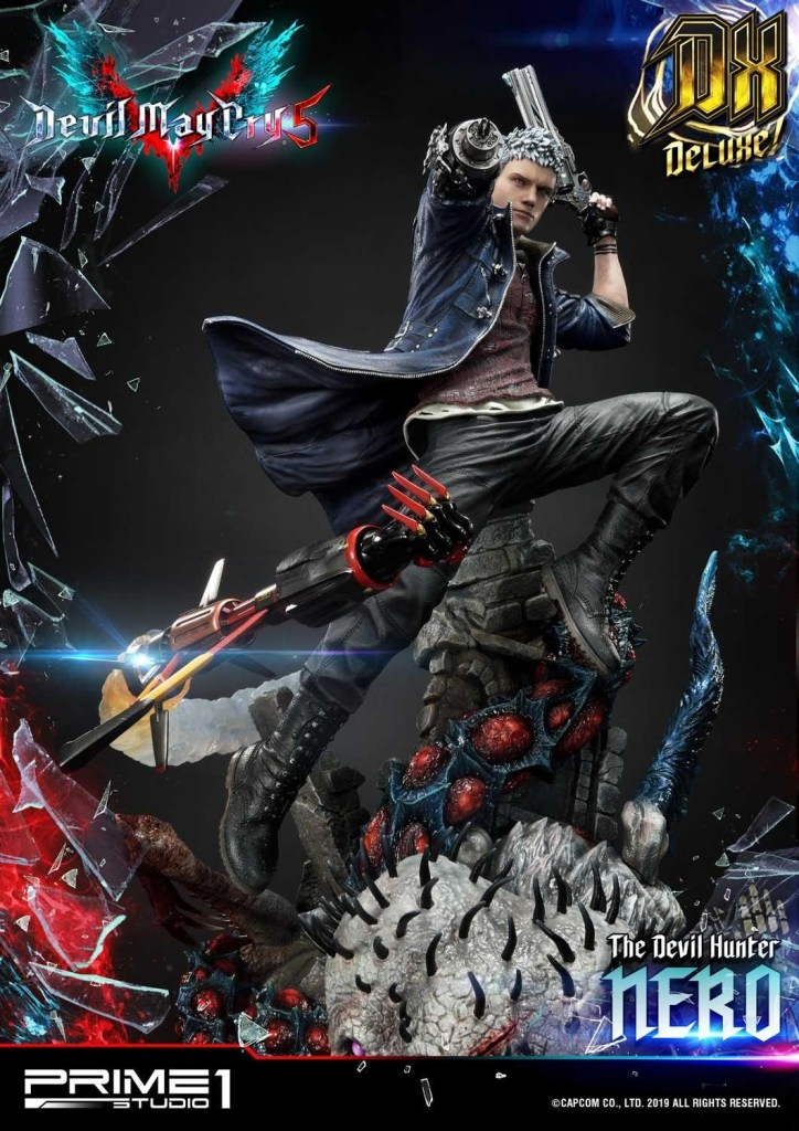 Devil May Cry V's Nero is ready to kick demon ass again in this magnificent Prime 1 statue 38