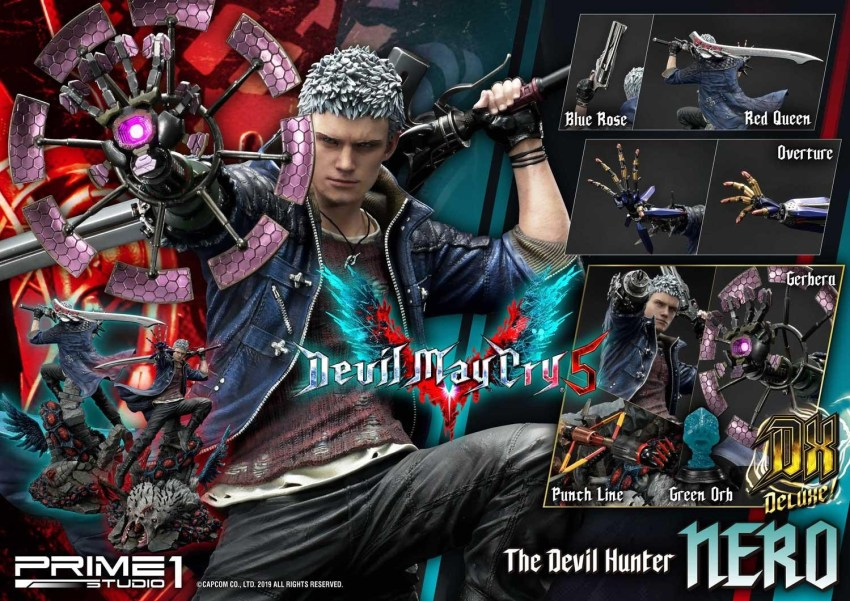 Devil May Cry V's Nero is ready to kick demon ass again in this magnificent Prime 1 statue 41