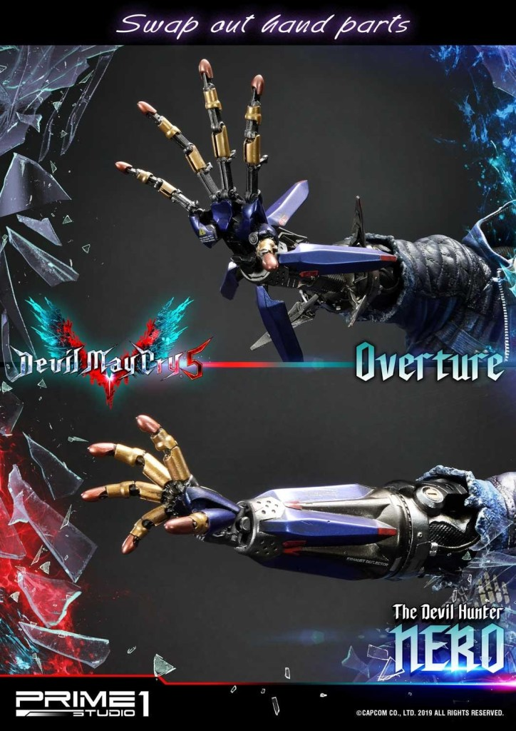 Devil May Cry V's Nero is ready to kick demon ass again in this magnificent Prime 1 statue 45
