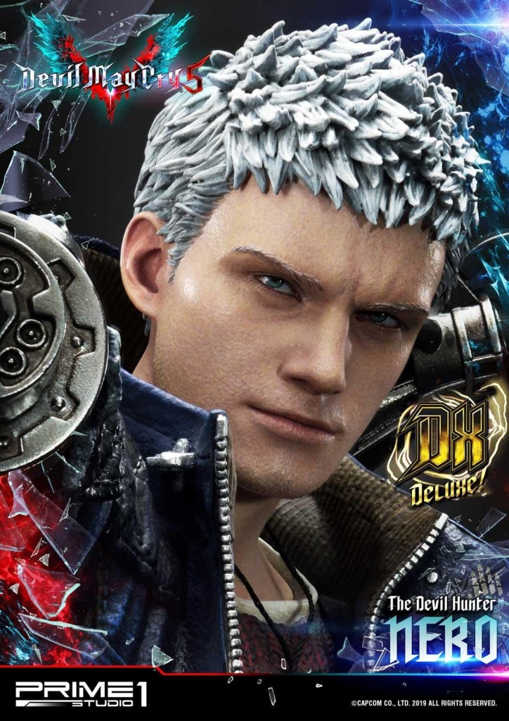 Devil May Cry V's Nero is ready to kick demon ass again in this magnificent Prime 1 statue 56