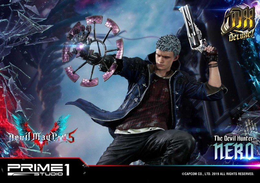 Devil May Cry V's Nero is ready to kick demon ass again in this magnificent Prime 1 statue 57