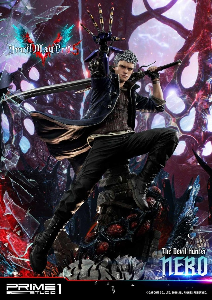 Devil May Cry V's Nero is ready to kick demon ass again in this magnificent Prime 1 statue 64