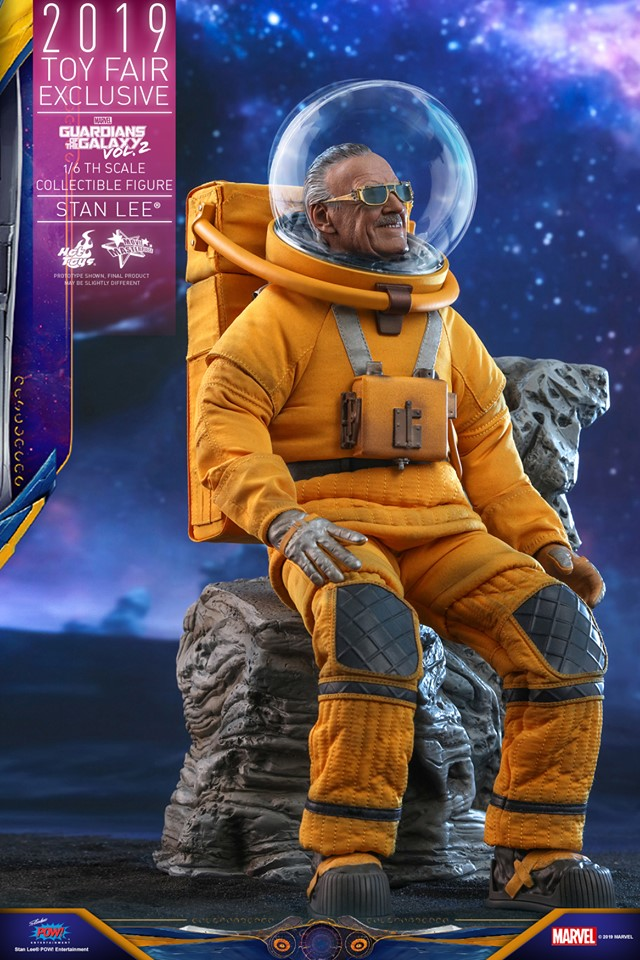 Excelsior! Stan Lee lives once again in this new Hot Toys replica figure 24