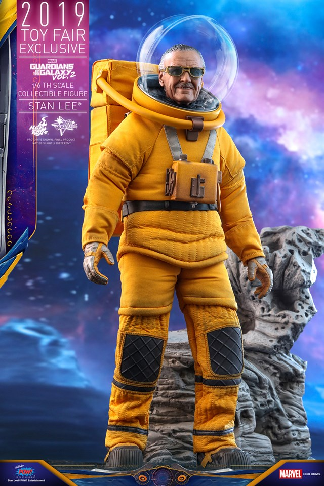 Excelsior! Stan Lee lives once again in this new Hot Toys replica figure 19