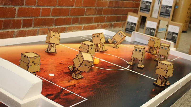 Local company builds new bug-like robots to teach programming to schools 5