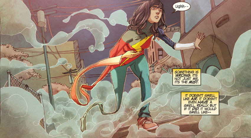 ABC developing new Marvel superhero TV series - could it be Ms. Marvel? 7