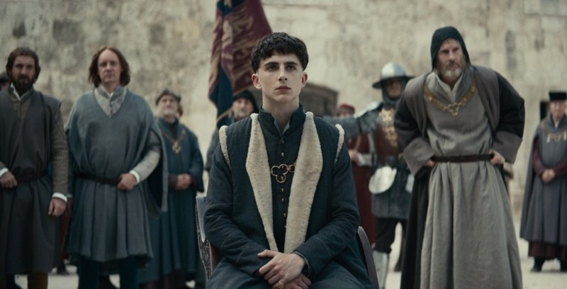 All Hail Timothée Chalamet as King Henry V in this new trailer for Netflix's The King 3