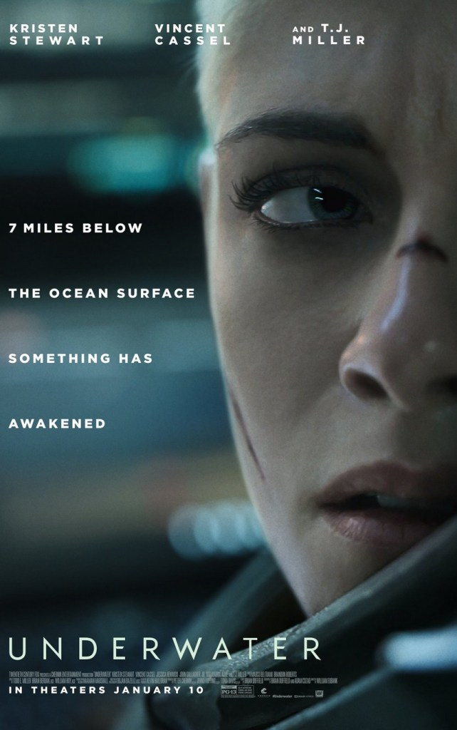 Kristen Stewart fights sea monsters in the first trailer for Underwater 4