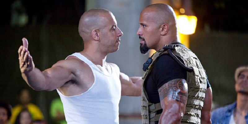 Report reveals that The Rock, Jason Statham and Vin Diesel contractually can't look bad in a fight 4