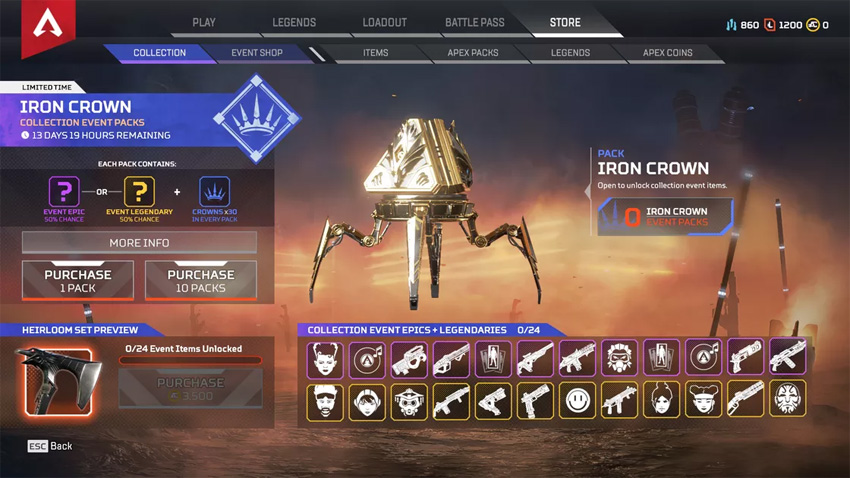 Apex Legends' solo-focused Iron Crown event is here - but it comes with some serious problems 6