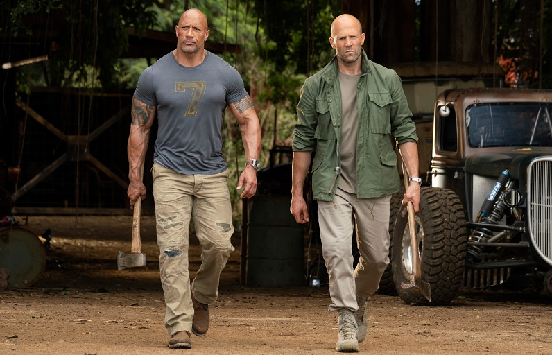 Report reveals that The Rock, Jason Statham and Vin Diesel contractually can't look bad in a fight 3
