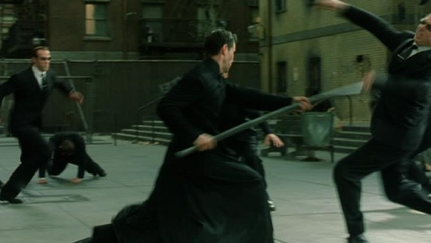 Matrix fights (1)