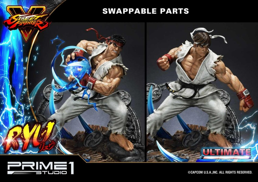 For $1299, you get a lot of Street Fighter in this Ryu statue from Prime 1 21