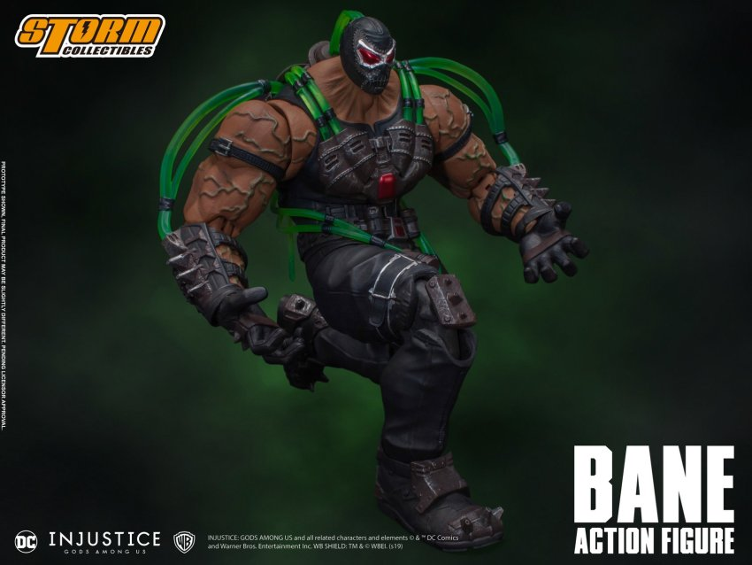 Storm Collectibles Bane is ready to break the bat once again 26