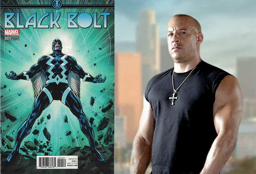 Rumour: Marvel casting new version of Inhumans; Vin Diesel, Aaron Taylor-Johson in consideration 5