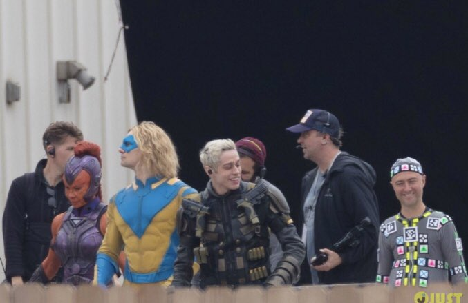 The Suicide Squad in-costume set pics finally show us who is playing who 16
