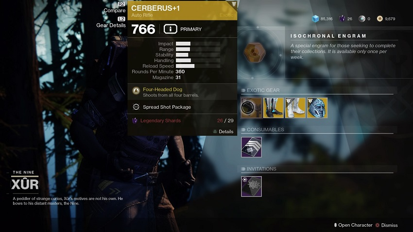 Destiny 2: Where is Xur (and whats he got for sale?) – November 08 4