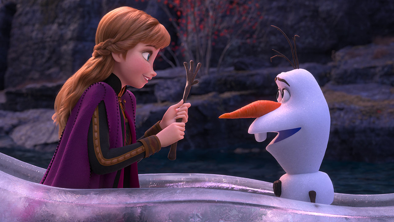 Weekend box office - Frozen II still hot as Knives Out makes a killing 3