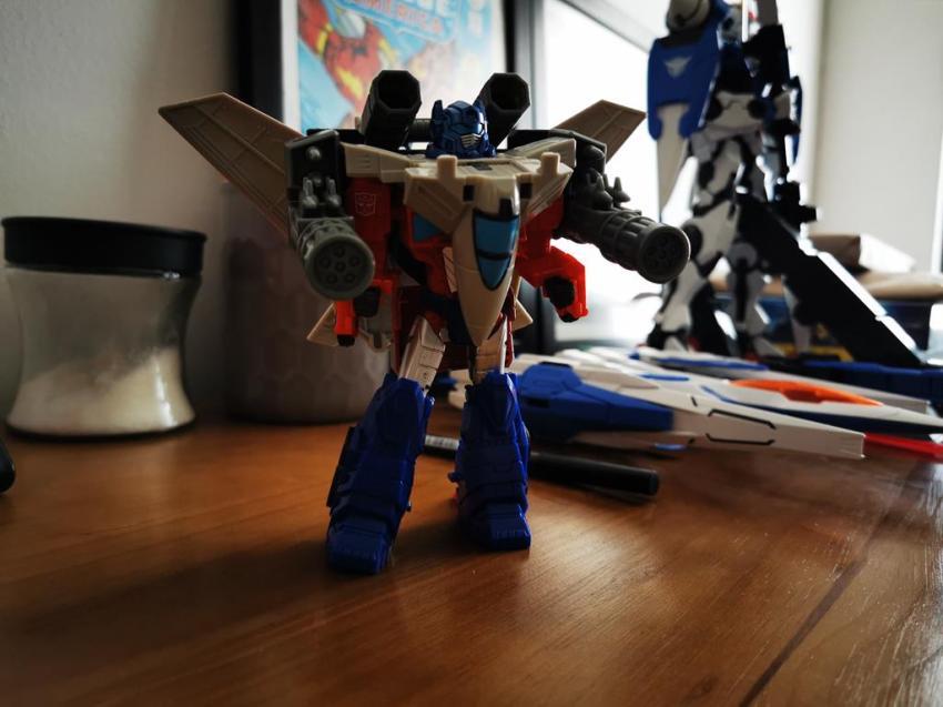 Transformers Cyberverse Spark Armour Optimus Prime Review 31
