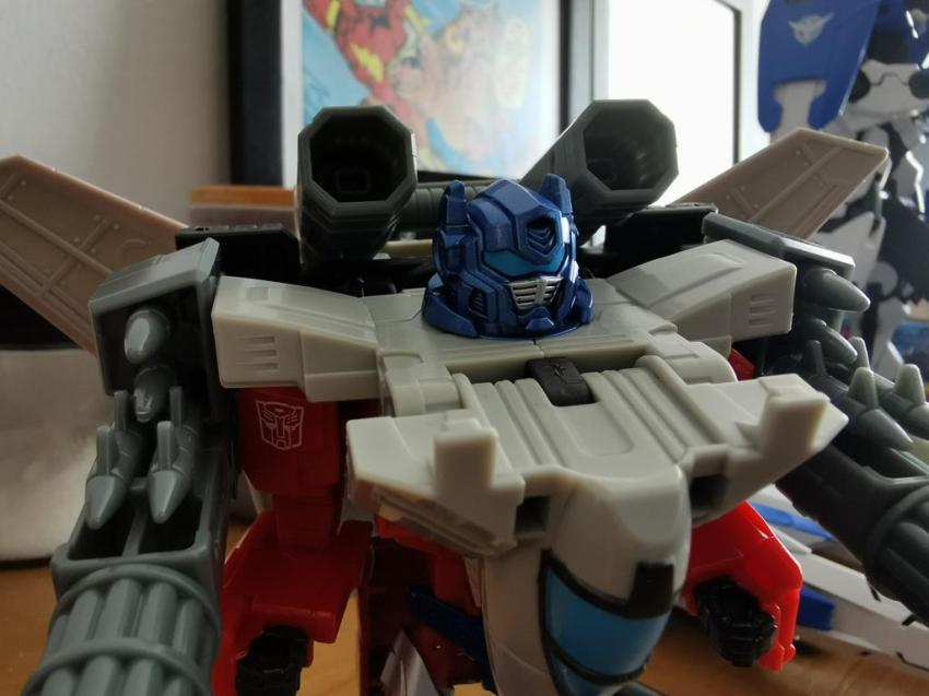 Transformers Cyberverse Spark Armour Optimus Prime Review 32