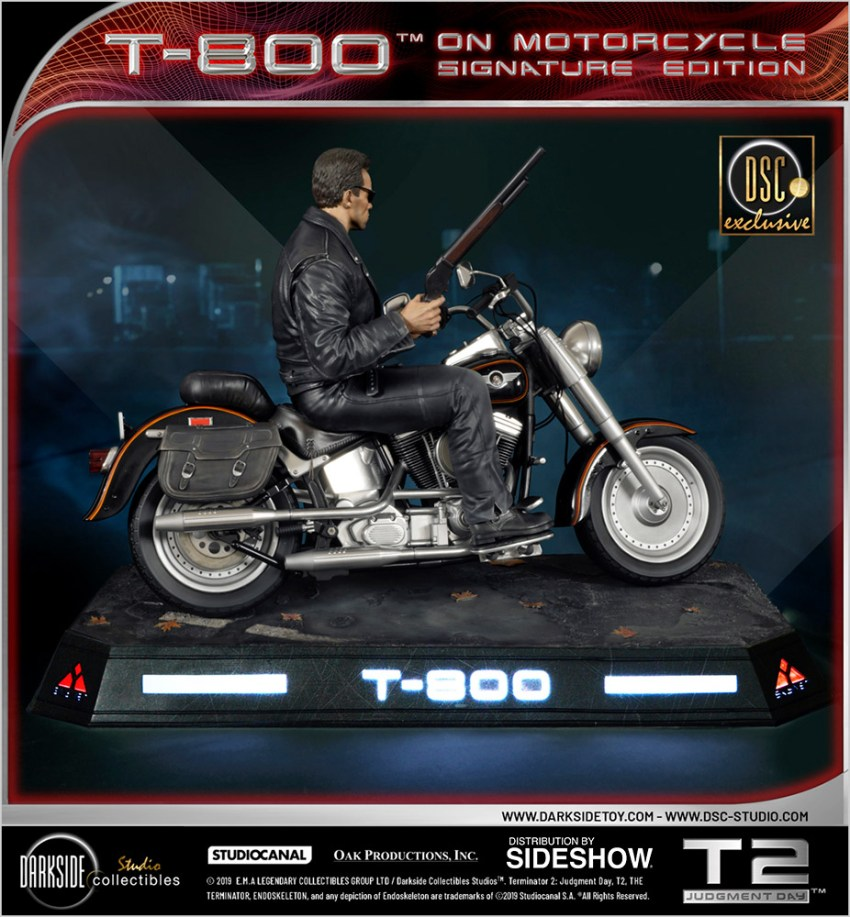 I need your clothes, your boots and your motorcycle after buying this Terminator 2 statue 62
