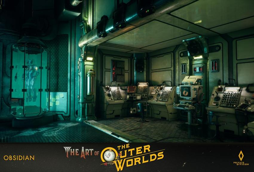 The art of The Outer Worlds 167