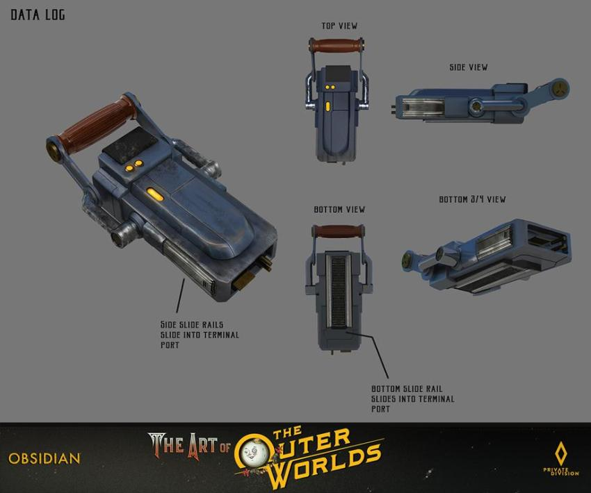 The art of The Outer Worlds 151