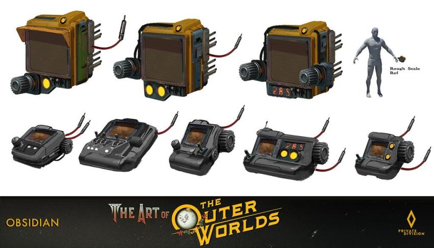 The art of The Outer Worlds 153