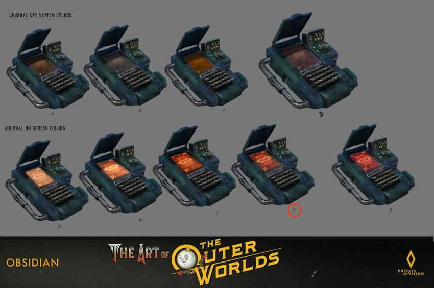 The art of The Outer Worlds 156