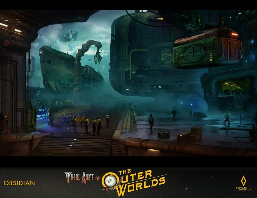 The art of The Outer Worlds 160