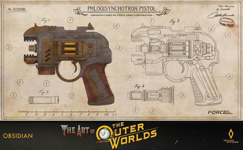 The art of The Outer Worlds 130