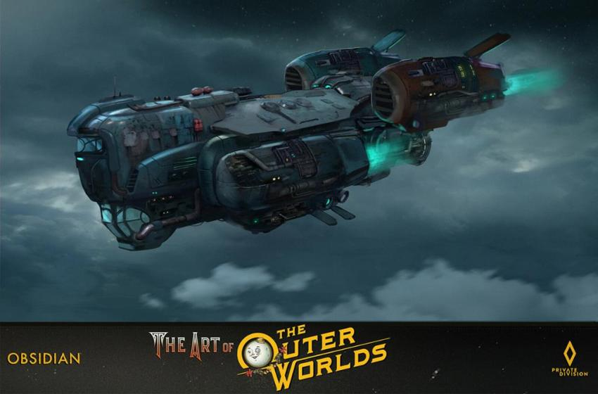 The art of The Outer Worlds 134