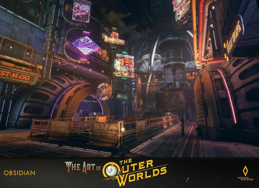 The art of The Outer Worlds 111