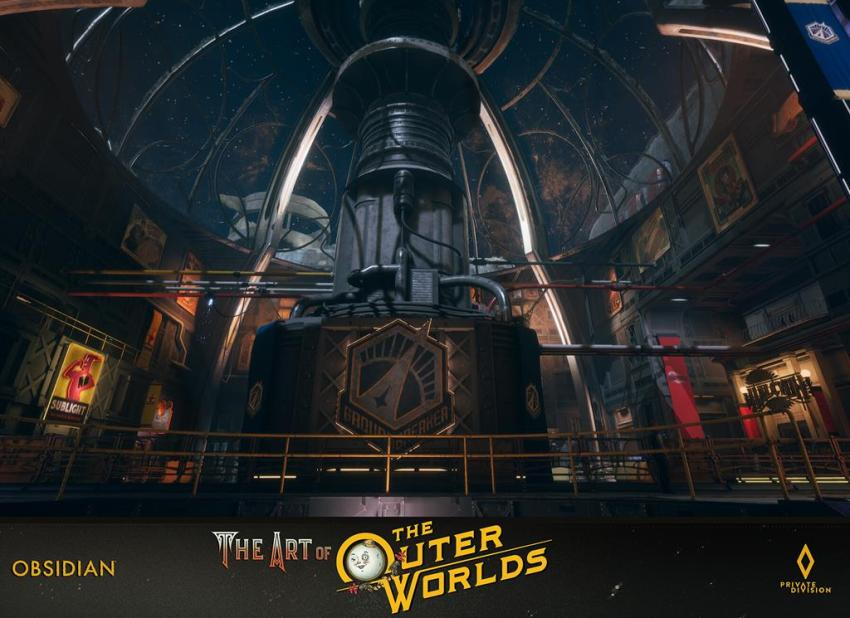 The art of The Outer Worlds 101