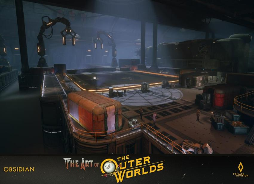 The art of The Outer Worlds 102