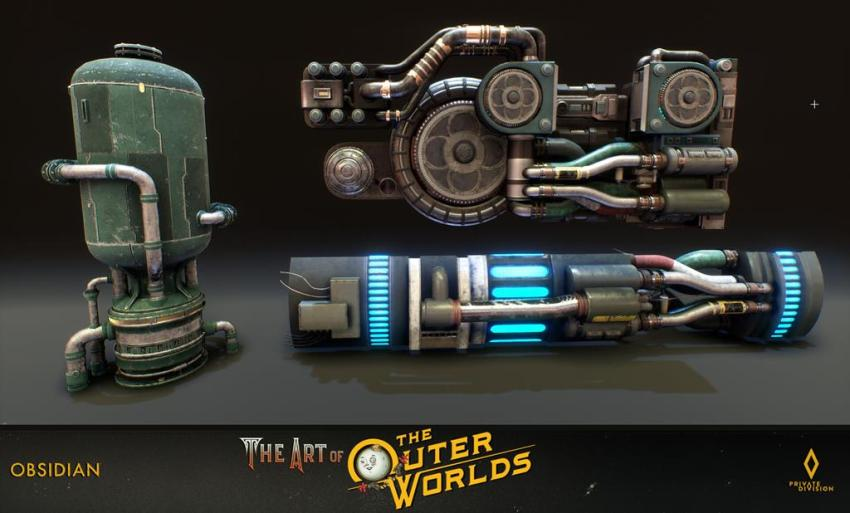 The art of The Outer Worlds 117