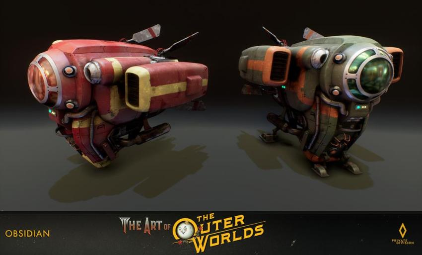 The art of The Outer Worlds 119