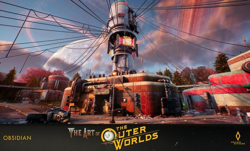 The art of The Outer Worlds 127