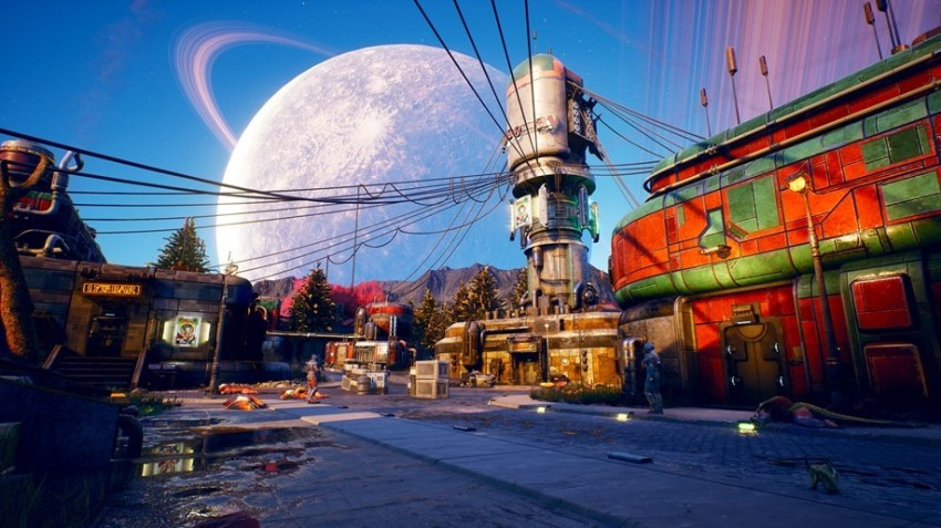 The Outer Worlds Roseway Interior Screenshot