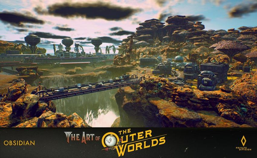 The art of The Outer Worlds 89